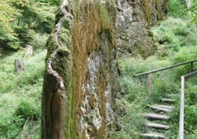 Wachsender Stein
